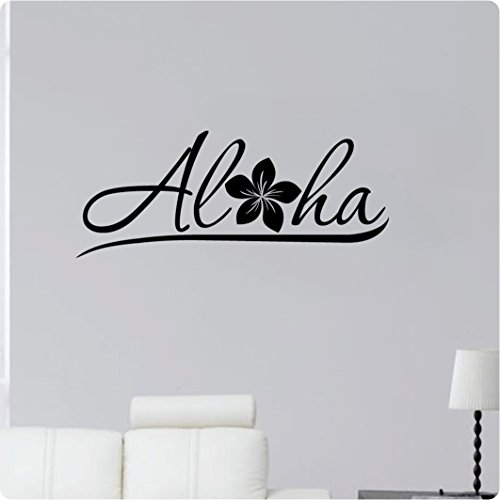 28-Aloha-Hello-adis-adhesivo-arte-mural-casa-decoracin-pared-de-Hawaii-Hibisco-Flor