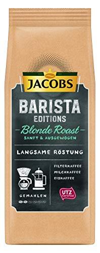 Jacobs Filterkaffee Barista Editions Blonde Roast, gemahlener Kaffee, 6er Pack (6 x 225 g)