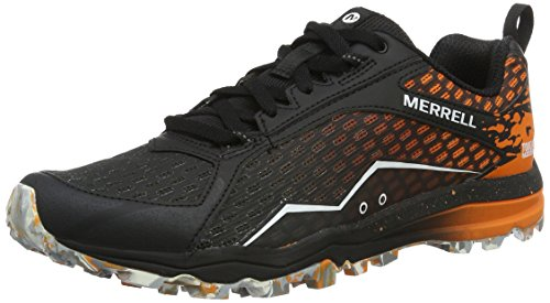 Merrell Herren All Out Crush Tough Mudder Traillaufschuhe, Mehrfarbig (Orange), 44 EU
