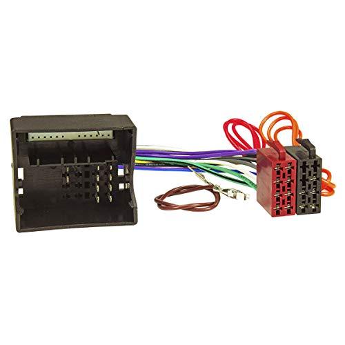 tomzz Audio 7034-002 Radio Adapter Kabel passend für Mercedes ab 2004 Quadlock (mit Audio 10) auf 16pol ISO Norm