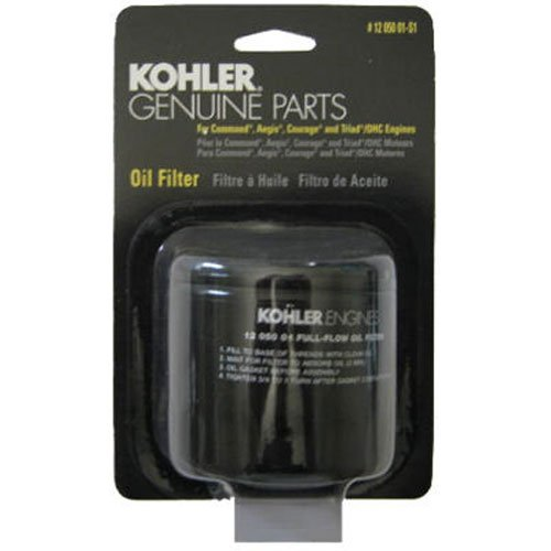 KOHLER 12 050 01-S1 Engine Oil Filter For CV17 – CV26 And CH17 – CH26
