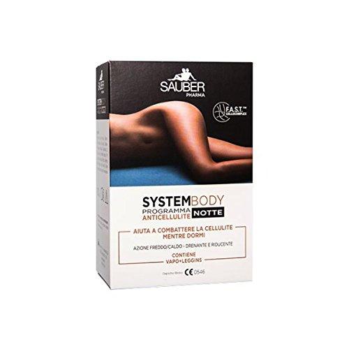 Sauber System Body programma anticellulite Notte Vapo+Leggins S/M colore Neutro