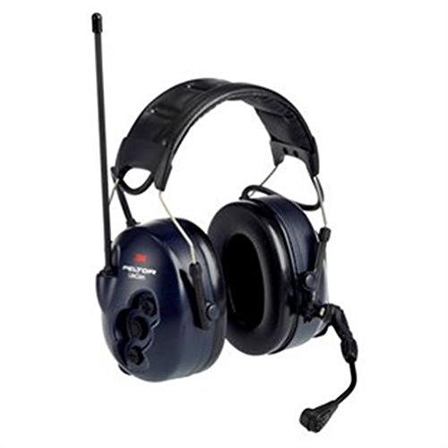 3 M Peltor liteCom stereofonico Pavillon auriculaire noir, bleu écouteurs