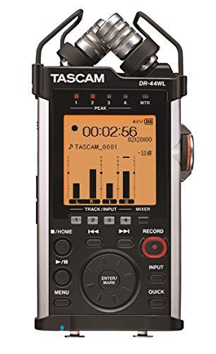 Tascam DR-44WL - Registratore palmare a 4 tracce con funzioni Wi-Fi