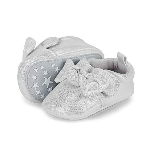 Sterntaler Baby Mädchen Schuh Slipper, Weiß (Weiss 500), 18 EU -