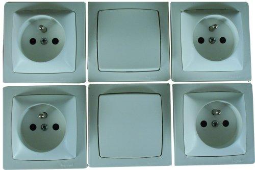 legrand-leg100600-lote-de-2-interruptores-y-4-enchufes-con-toma-de-tierra