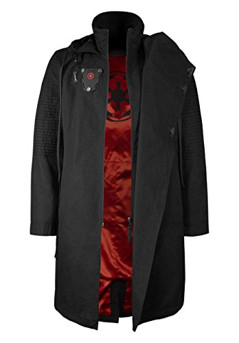 Musterbrand Star Wars capa Hombre Sith Lord Chaqueta Negro L