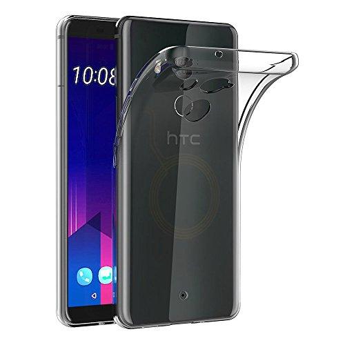 HTC U11 Plus Hülle, AICEK Transparent Silikon Schutzhülle für HTC U11 Plus Case Clear Durchsichtige TPU Bumper HTC U11 Plus Handyhülle (6,0 Zoll)