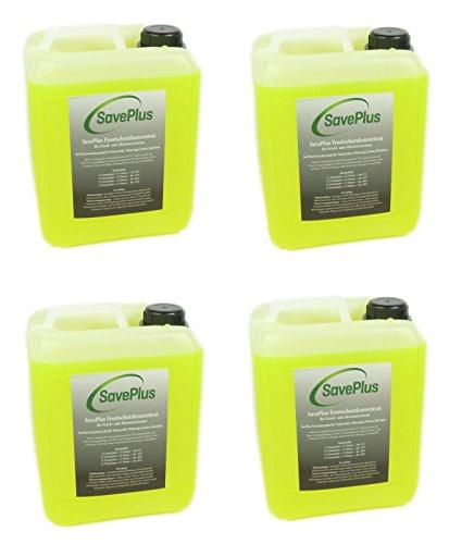 Saveplus Frostschutz Frostschutzmittel für Poolpumpen und Poolsysteme 4x5L = 20L