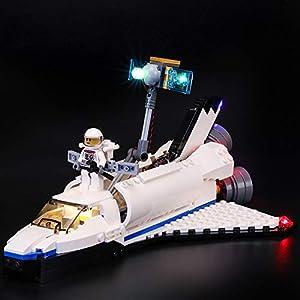 BRIKSMAX Kit di Illuminazione a LED per Lego Creator Esploratore Spaziale, Compatibile con Il Modello Lego 31066… 0716852283132 LEGO