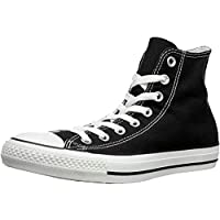 Converse Unisex-Adult Chuck Taylor All Star Hi-Top Trainers, Black- 5 UK