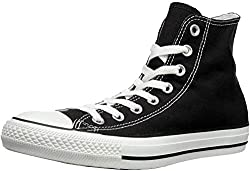 Converse Unisex-Erwachsene Ctas-Hi-Black High-Top, Schwarz (M9160 Schwarz/weiß),39 EU