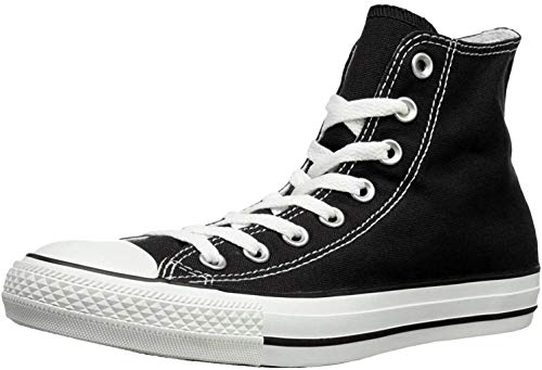 Converse Chuck Taylor All Star Hi, Zapatillas Altas Unisex adulto, Negro (Black/White), 39.5 EU
