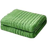 XDFCV Textiles,warmes Innenzubehör Winter Leisure Blanket Quaste Sofa Handtuch Decke Dekoration Decke Jacquard