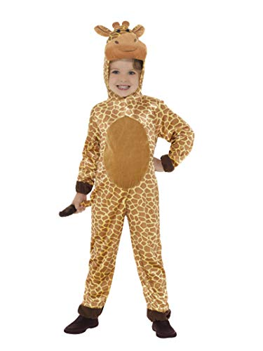 Kostüm Giraffe Kinder - Smiffys Giraffe Kostüm Kinder 134/146 (7-9 Jahre)