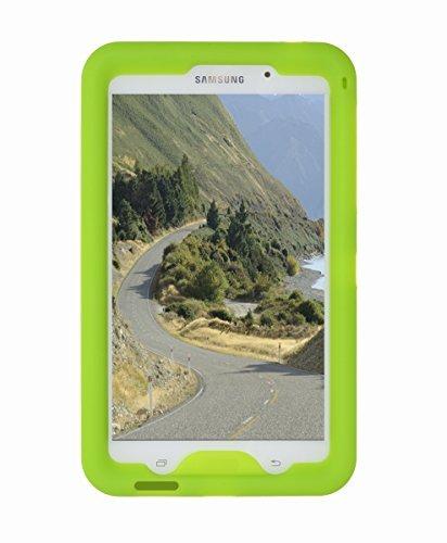 Custodia robusta BOBJ per Samsung Galaxy Tab 4 7-inch Tablet, WiFi Model (SM-T230), 3G Model (SM-T231), 4G Model (SM-T235), and other Models Sm-T23.., Tab 4 Nook 7 - BobjGear protezione Tablet caso (Verde)