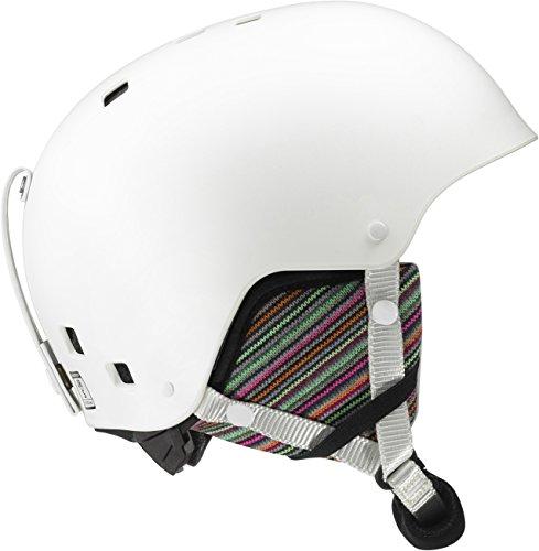 Salomon, Mädchen Freestyle-Ski- und Snowboardhelm, ABS-Schale+EPS-Innenschale, Gr. S, Kopfumfang...