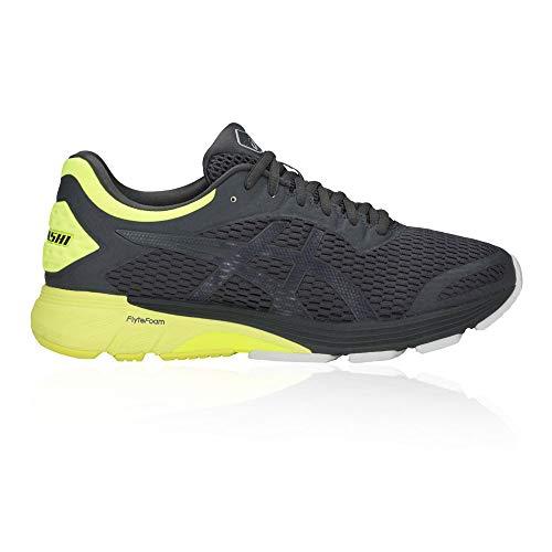 Asics Gt-4000, Zapatillas de Running para Hombre, Gris (Dark Grey/Safety Yellow 020), 44.5 EU