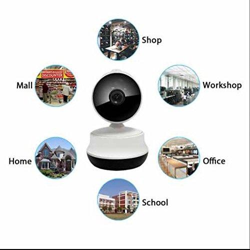720P HD WiFi Pan/Tilt ip kamera Cloud Video Recording,klare Tonübertragung,LED Infrarot Nachtsicht,Büro ip kamera,Baby Haustier Video Monitor,SD Karte Storage (Infrarot Pan)