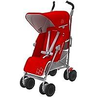 Maclaren Techno XT - Silla de paseo, color Cardinal / plata