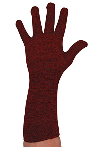 Ussen - Gants -  Homme Rouge - Red Marl