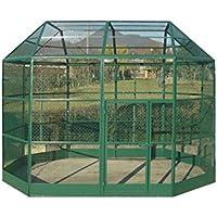 VADIGRAN Roma Volière Élevage Agriculture Urbaine Vert 350 x 230 x 265 cm  A-B-C-D-E 3a0fe6322bae