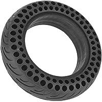 BiuZi Honeycomb Tire 1Pc Negro Durable Caucho Scooter Eléctrico Neumático Sólido Scooter Eléctrico Accesorios