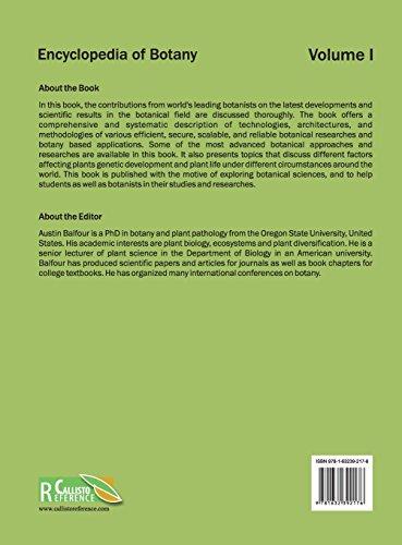Encyclopedia of Botany: Volume I: 1