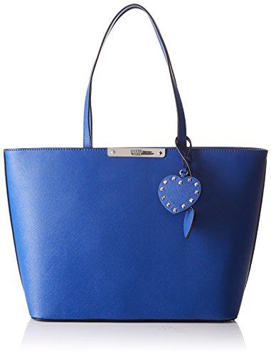 Guess Hwvy6693230, Borsa a Mano Donna, 14.5 x 24.5 x 34.5 cm (W x H x L) Blu