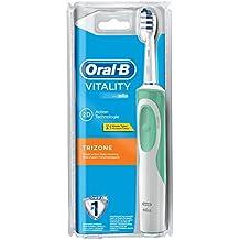 Oral-B Vitality Elektrische Zahnbürste, mit Timer und TriZone Aufsteckbürste, Sichtverpackung