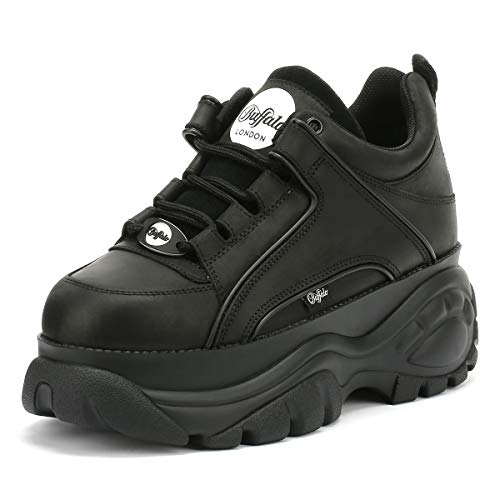 Buffalo Damen Sneaker Größe 38 EU Schwarz (schwarz)