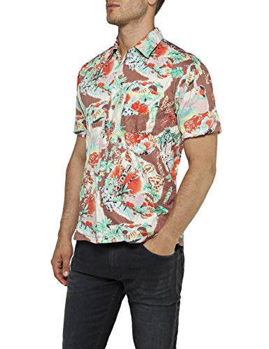 REPLAY M4985 .000.71736 Camicia Casual Uomo Multicolore EU
