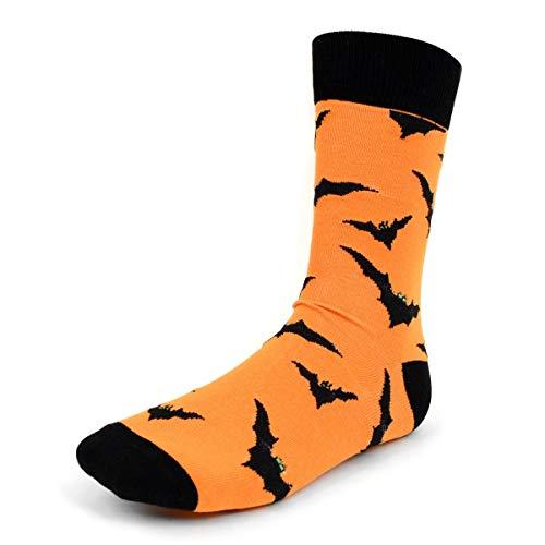 Parquet Herren Socken mit Halloween-Motiv - schwarz - Einheitsgröße