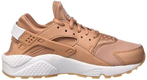 Nike Damen Wmns Air Huarache Run Trainer Beige (Dusted Clay/white/gum Yellow)