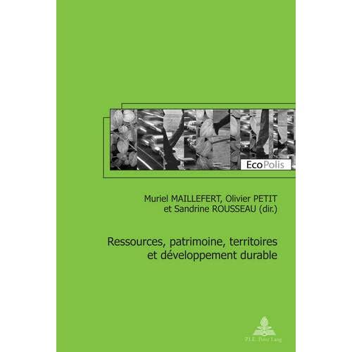 Ressources, patrimoine, territoires et développement durable