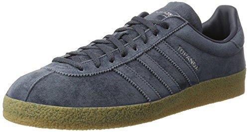 adidas Unisex-Erwachsene Topanga Sneakers Blau (Utility Blue F16/Utility Blue F16/Gum4)