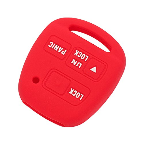fassport-silicone-cover-skin-jacket-fit-for-toyota-lexus-3-button-remote-key-case-cv2422-red