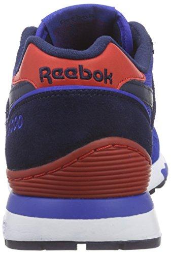 Reebok Herren Gl 6000 Athletic Laufschuhe Blau (Collegiate Royal/Collegiate Navy/Scarlet/Wht)