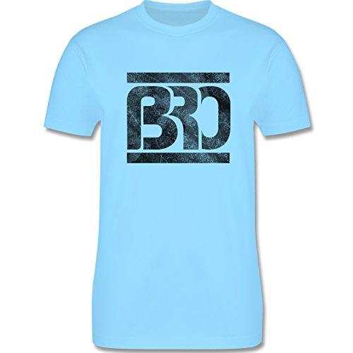 Statement Shirts - BRO - Herren Premium T-Shirt Hellblau