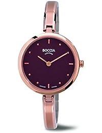 Boccia Damen-Armbanduhr Analog Quarz Titan 3248-03