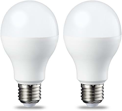 AmazonBasics Ampoule LED E27 A60 avec culot à vis, 14W (équivalent ampoule incandescente 100W), blanc chaud, dimmable -