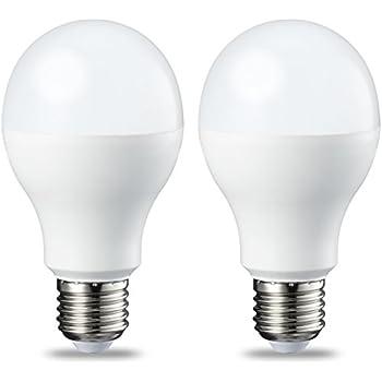 AmazonBasics Bombilla LED Esférica E27, 14W (equivalente a 100W), Blanco Frío -