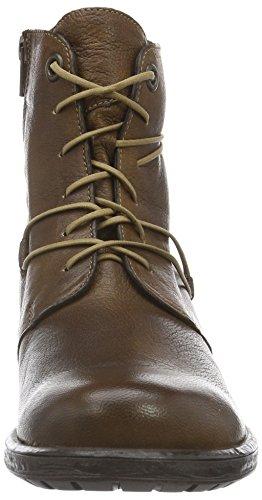 Think! Damen Liab Biker Boots Braun (HAZEL/KOMBI 50)