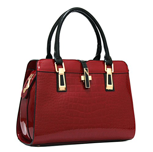 Yan Show, Borsa a tracolla donna blu Dark Blue Wine Red