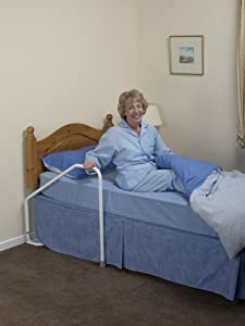 NRS Healthcare Rise Easy Bed Aid Rail for Double Beds