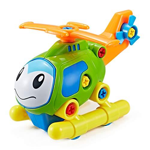Think Gizmos Take auseinander Spielzeug Range - Bauen Sie Ihr eigenes Spielzeug-Kit für Jungen und Mädchen im Alter von 3 4 5 6 7 8 (Hubschrauber)