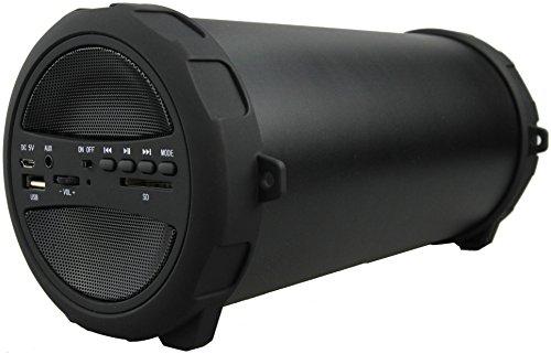 Denver 12619020 Bluetooth Lautsprecher BTS-53 Schwarz