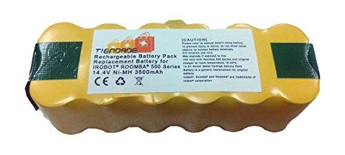 Tiendade Bateria para aspirador Roomba Series 500, 600, 700, 800 3500 mAh, con iva