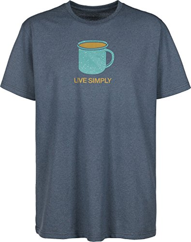 herren-t-shirt-patagonia-live-simply-morning-responsibility-t-shi