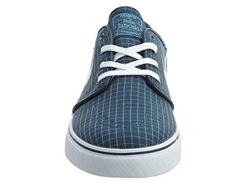 Nike Zoom Stefan Janoski Cnvs Prm, Chaussures de Skate Homme, Multicolore, Taille Squadron Blue/White-TD Platinum Blue